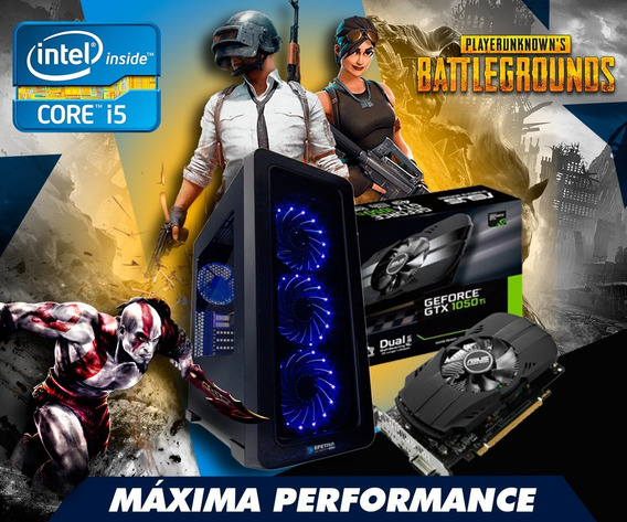 Pc Gamer Intel Core I5 8gb 1tb Wfi Gtx 1050ti *pubg*fortnite