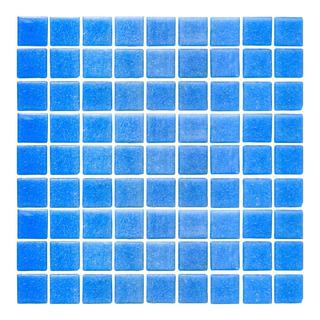Mosaico Veneciano Azul Cancún B011 2 X 2 Cm (2.14m²)