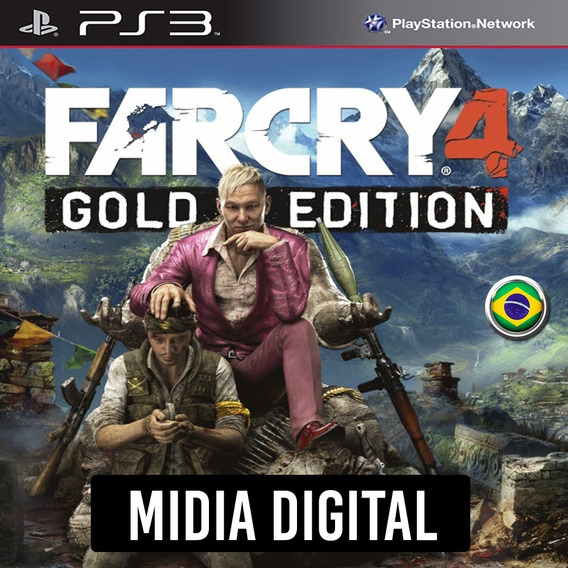 Ps3 - Far Cry 4 Gold Edition