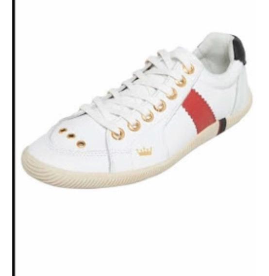 Tênis Branco Osklen Riva Em Couro, Nunca Usado. Número 39