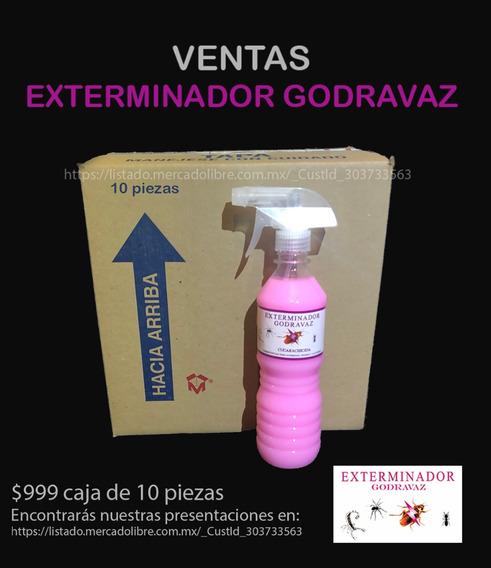 Exterminador De Cucarachas Godravaz Caja 10 Piezas