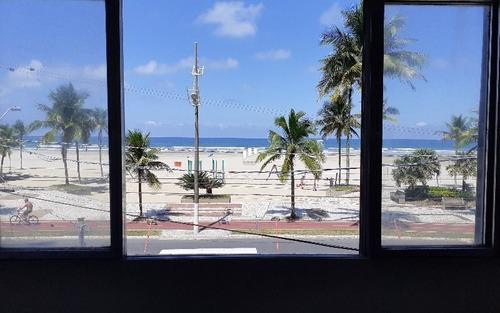 Apartamento De 2 Dormitório De Frente Para O Mar Em Praia Grande Sp.
