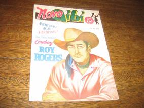 Novo Gibi Nº 1769 Ano:1951 Roy Rogersl Rge Original