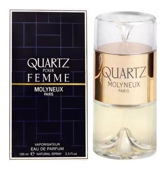 Quartz Pour Femme Edp 100ml Feminino + Amostra De Brinde