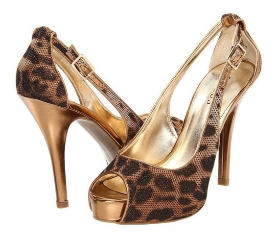 Zapatos Guess Color Bronze Numero 25.5 (8.5 Americano)