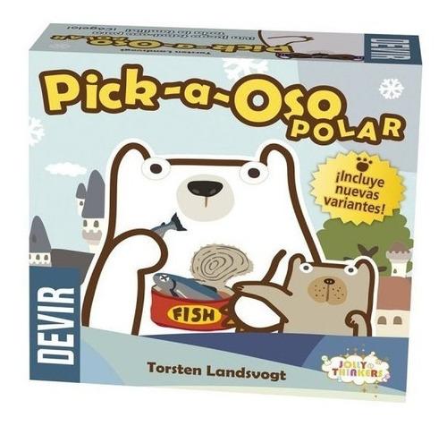 Pick - A - Oso Polar Juego De Memoria Y Atención Marca Devir