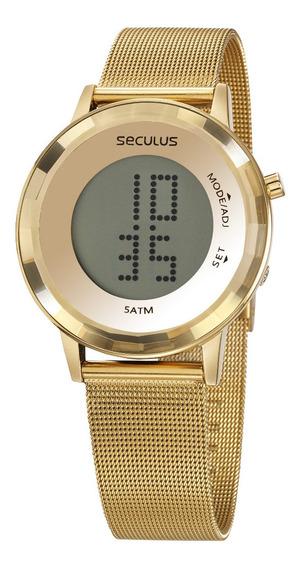 Relógio Seculus Feminino 77046lpsvds1 Digital