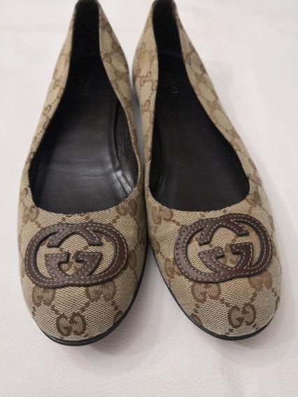 Zapato Flats Gucci