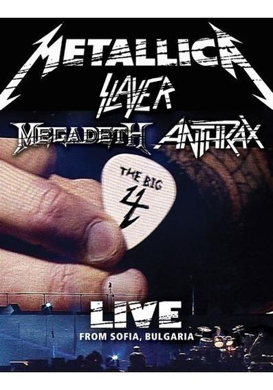 Metallica Slayer Megadeth Anthrax The Big Four 2 Dvd