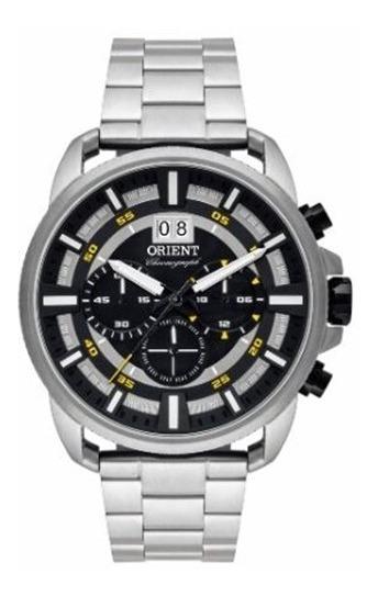 Relógio Orient Analógico Cronógrafo Masculino Mbssc203
