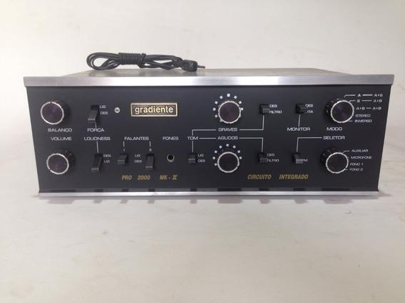 Gradiente Pró 2000 Mk Ii - 1ª Versão - Impecável