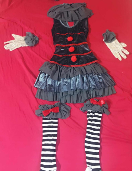 Traje Halloween Pennywise Mujer