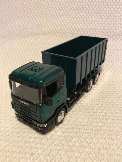 Caminhão Scania 1:43 - Transporte De Resíduos