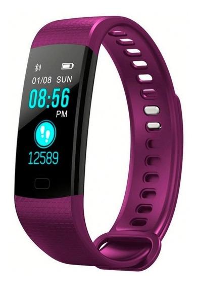 Reloj Smart Band Mide Pulso, Frecuencia Cardíaca, Cuenta Pasos, Calorias Y Monitorea Sueño