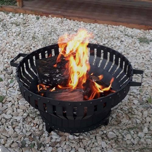 Fogonero Brasero Circular Bosca Fire Pit 60cm Asador Parrila