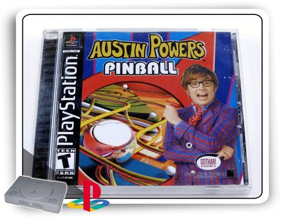 Austin Powers Pinball Original Playstation 1 Ps1