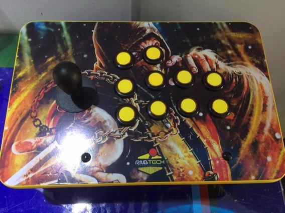 Joystick Arcade Fliperama Individual Para Ps3 , Pc Ou Ps2