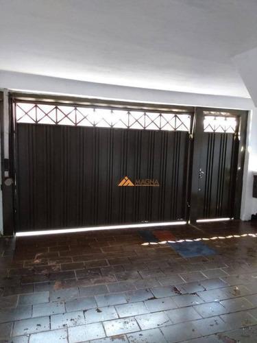 03 Casas Mais 01 Salão A Venda, 220 M² Por R$ 290.000 - Ipiranga - Ribeirão Preto/sp - Ca2636
