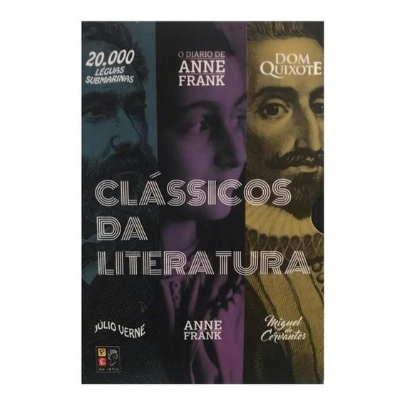 Clássicos Literatura: Anne Frank, Dom Quixote, 20.000 Léguas