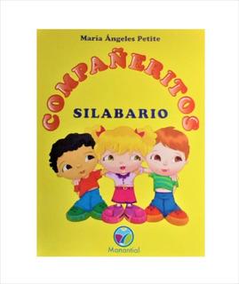 Libro Silabario Compañeritos Manatial