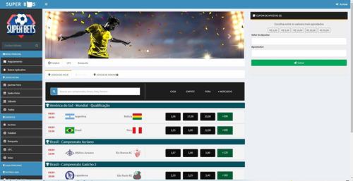 Imagem 1 de 3 de Sistema De Bolãode Futebol Com Cambistas E Gerentes