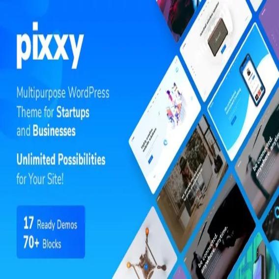 Pixxy - App, Software & Saas Startup Wordpress Tema