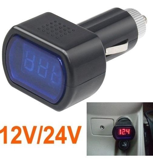 Voltímetro Digital 12v 24v Bateria Som Automotivo Carro Tuni