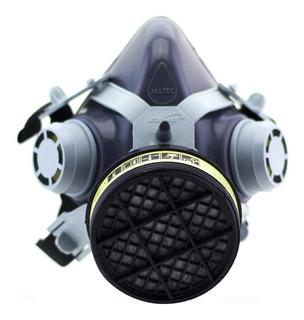 Mascara Facial Respirador C/ Filtro Gases Ácidos E Vapores O