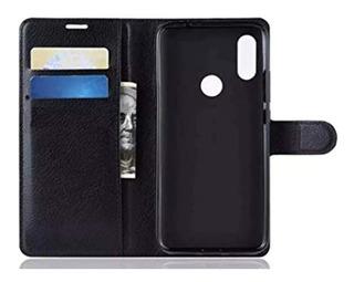 Capinha Case Carteira Wallet Flip Cover Xiaomi Redmi Note 7