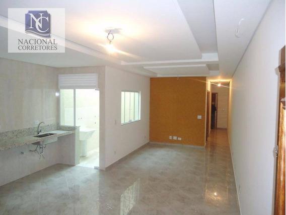 Apartamento Com 3 Dormitórios À Venda, 85 M² Por R$ 420.000 - Vila Curuçá - Santo André/sp - Ap4168