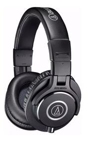 Audio Technica Ath-m40x Fone Estúdio Headphone-profissional