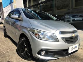Chevrolet Onix Lt 1.0 Flex 2013 - Prata