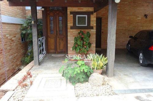 Casa À Venda, 330 M² Por R$ 1.500.000,00 - Residencial Recanto Dos Canjaranas - Vinhedo/sp - Ca0812