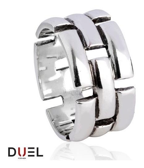 Aliança Compromisso Tipo Pulseira Style Prata 925 Fretegrats