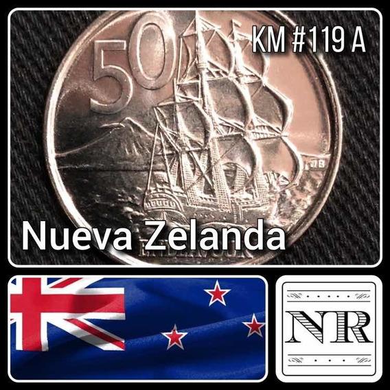 Nueva Zelanda - 50 Cents - Año 2006 - Km #119a - Oceanía - Endeavour