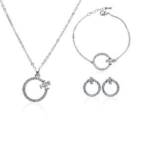 3afc9765d05f 3 Unids   Set Mujeres Niñas Collar Elegante Perla Joyas Per