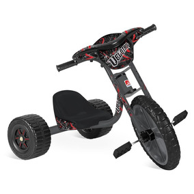Triciclo Velotrol - Preto - Bandeirante Bandeirante
