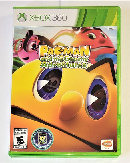Pac Man And The Ghostly Adventures Original Xbox 360 Cr $15
