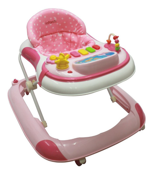 Andadera Electronica Color Pink, Infanti
