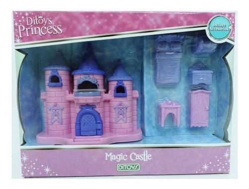 Mini Castillo Princesas Con Actividades (6997)