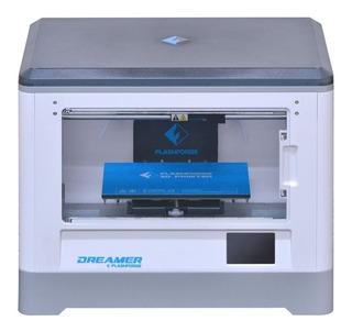 Impresora 3D Flashforge Dreamer white 100V/240V con tecnología de impresión FDM