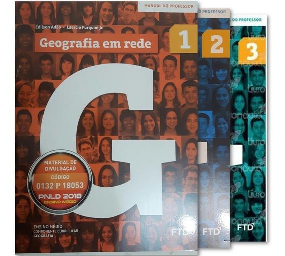 Coleção Geografia Em Rede Pnld 2018 - Manual Do Professor