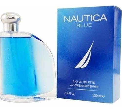 Perfume Nautica Blue 100ml -- Caballero 100% Original