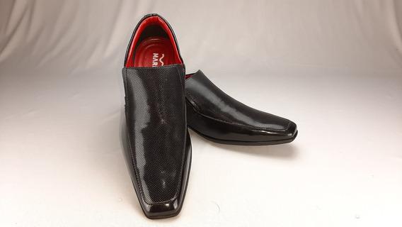 Sapato Social Mariner Asturias Perfurado E Verniz 21647