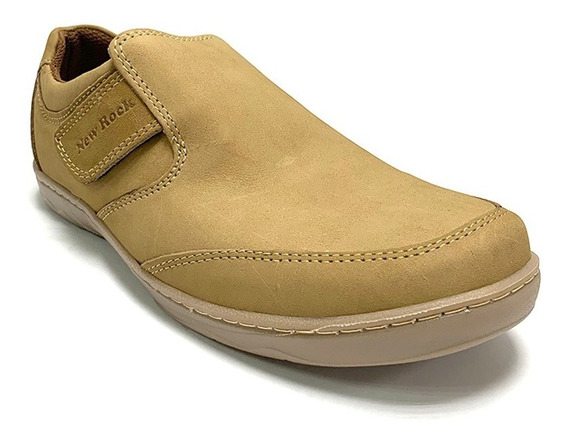Zapatos Casuales New Rock Caballero Marrón 0370091 Corpez 56