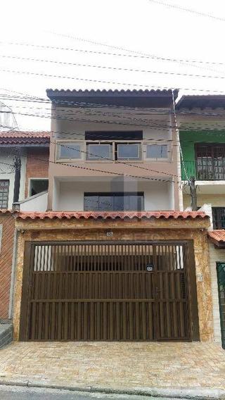 Sobrado Residencial À Venda, Jardim Guapituba, Mauá. - So0013