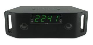Parlante Bluetooth Radio Reloj Despertador Tecnologia Nfc