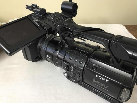 Camera Sony Z1 Mais Carregador Ótima Para Campanha