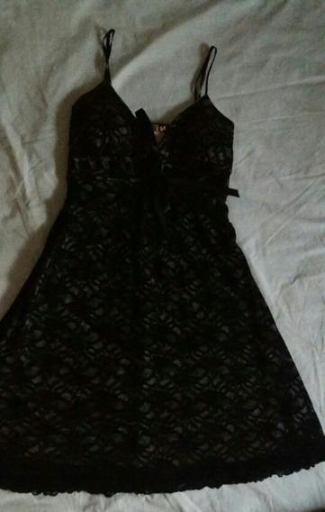 Vestido Tipo Cocktel Negro