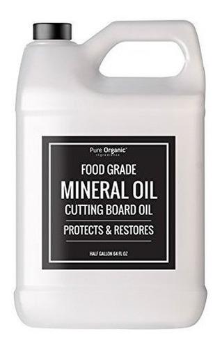 Ingredientes Organicos Puros Aceite Mineral Grado Alimentici